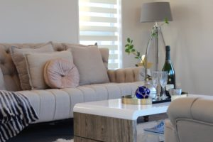 living rooms - home staging displays