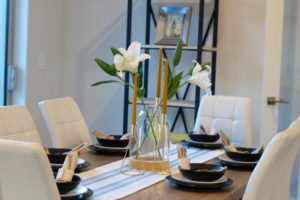Dining areas - home staging