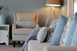 Home Staging cosy living rooms